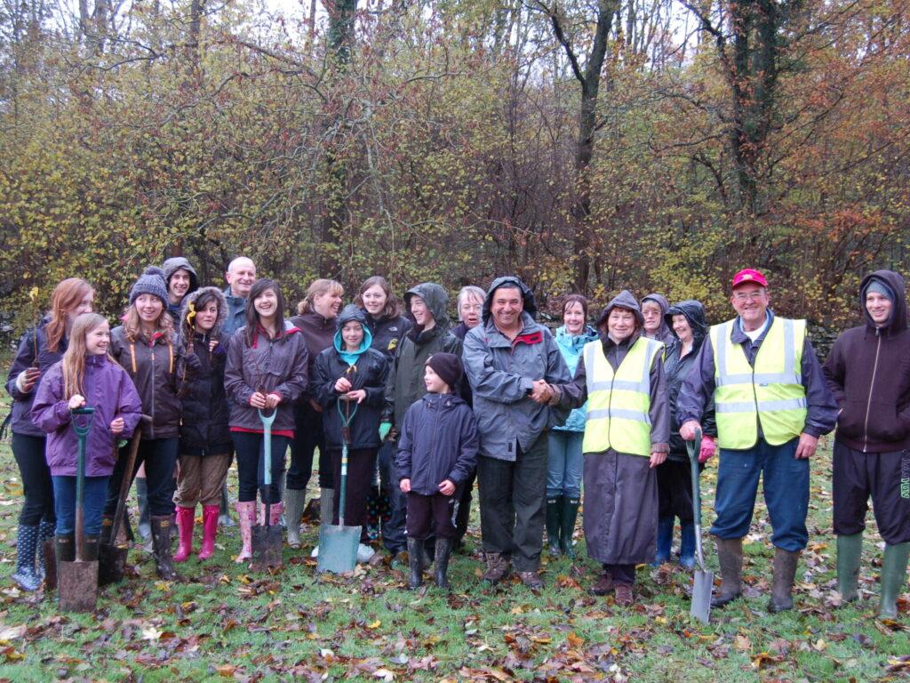 tree planting Nov 2012